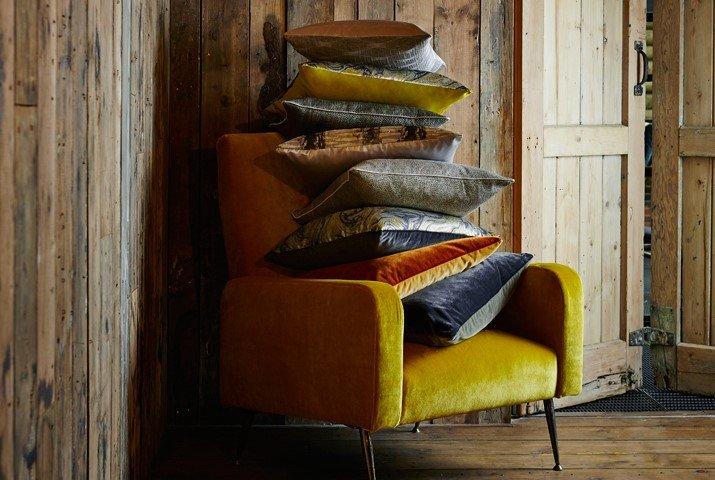 Handmade cushions Les Gets