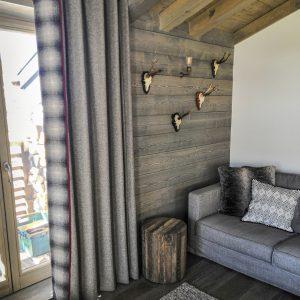 Handmade curtains Morzine