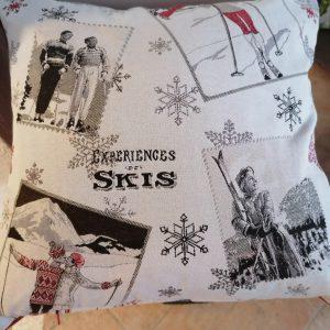 Handmade Savoyarde cushions Les Gets, Morzine