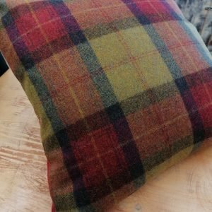 Handmade cushions to match curtains Les Gets, Morzine