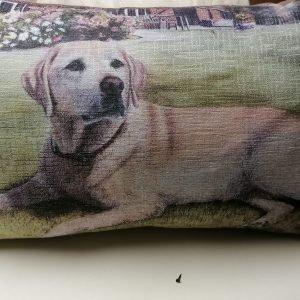 Handmade photo cushions Les Gets, Morzine