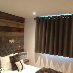 curtains for chalets and apartments - Les Gets, Morzine