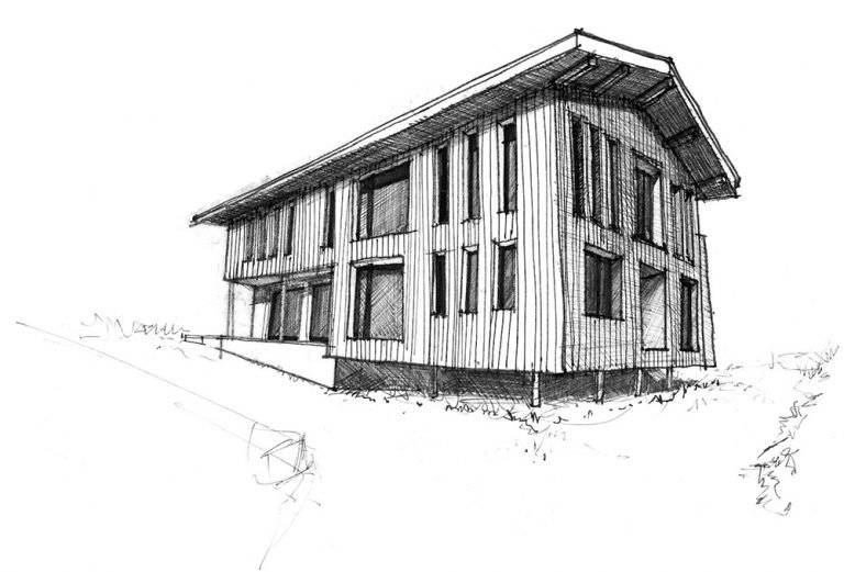 Location of FabAuxGets Curtains Morzine